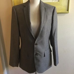 J.Crew 36S sports coat gray pinstripe NWT NEW